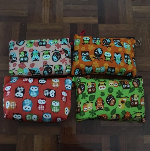 Owl Make Up Bag/ Pencil Case #deepavali50