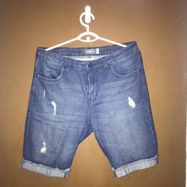 Oxygen Distressed Shorts