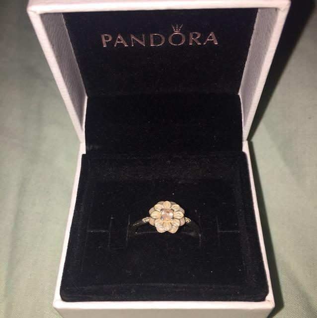 Pandora Ring - Blooming Dahlia