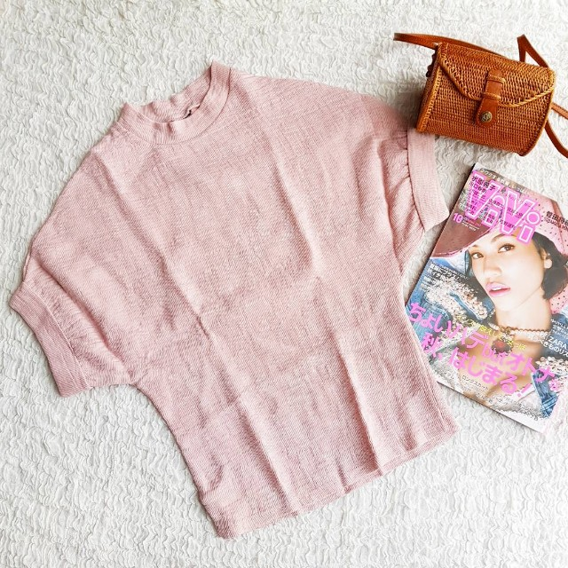 Pink Pleat Top