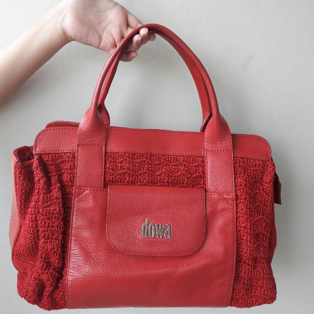 (Turun Harga!) Preloved Authentic Dowa Bag Nottingham Rocket Red