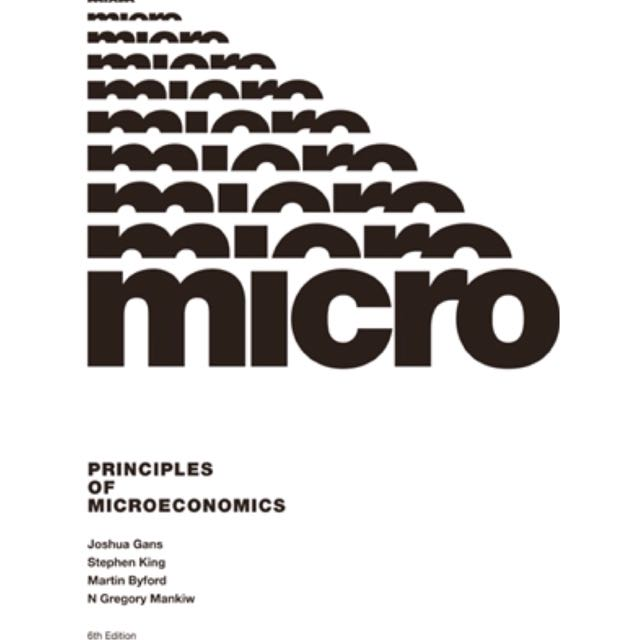 Principles of microeconomics 6th edition (e-book)