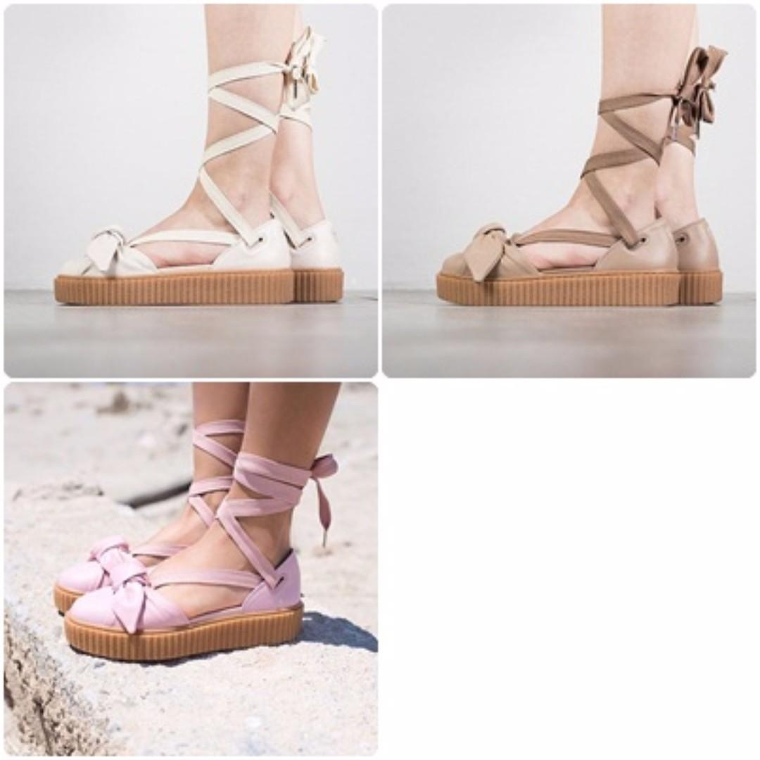 Puma x Fenty Rihanna Bow Creeper Sandals