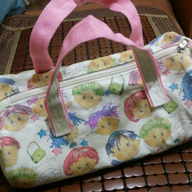 超Q 娃娃雙面手提包