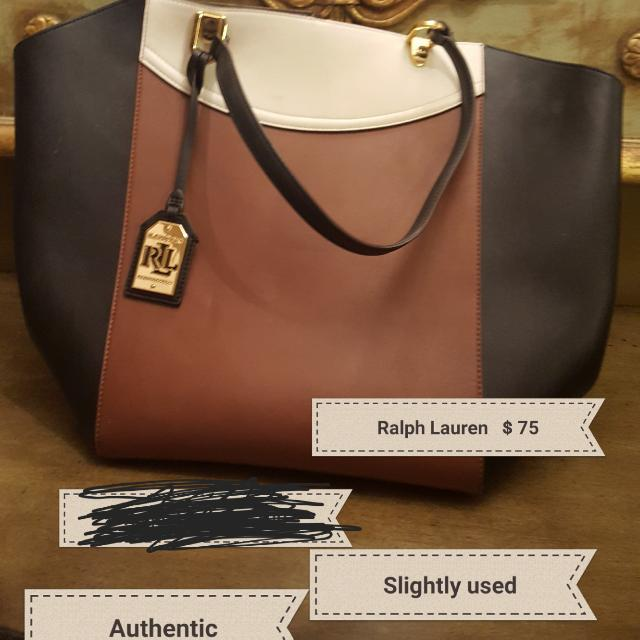 Ralph Lauren Bag Slightly Used Very Good Condition
