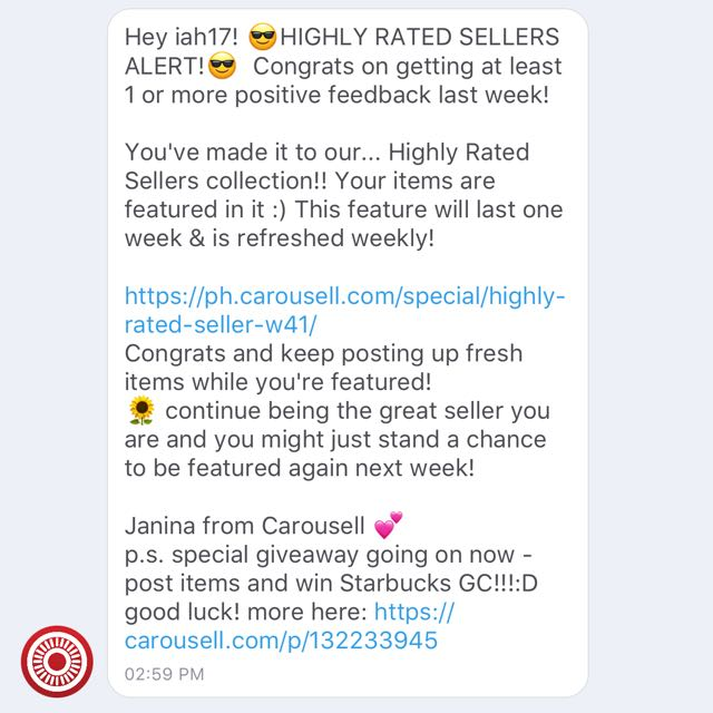 Recommended Seller. Thanks Carousell💕💕