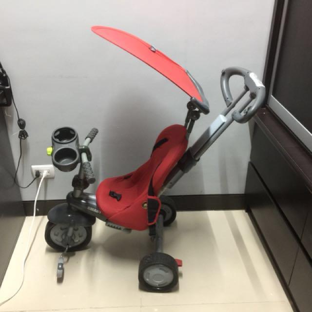 Red smart trike