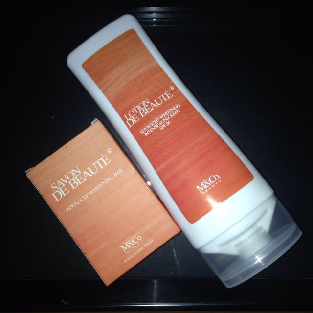 Savon and Lotion De Beauté Beauty Bundle (soap and lotion)