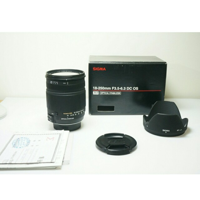 (for Nikon) Sigma DC 18-250mm OS HSM