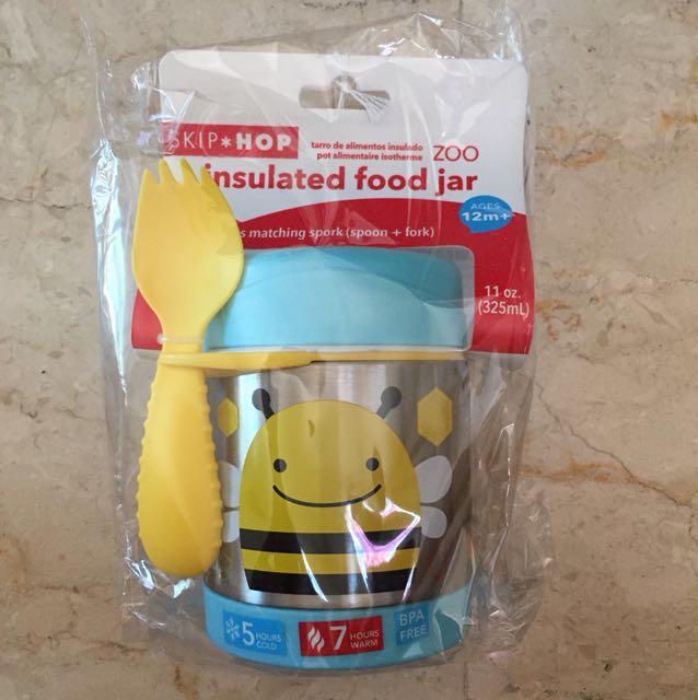 Skip hop insulated food jar