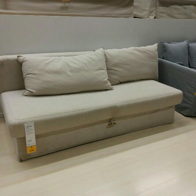 competitive price 8ab10 e3d6b HIMMENE IKEA 3 SEATER SOFA BED , Furniture, Sofas on Carousell