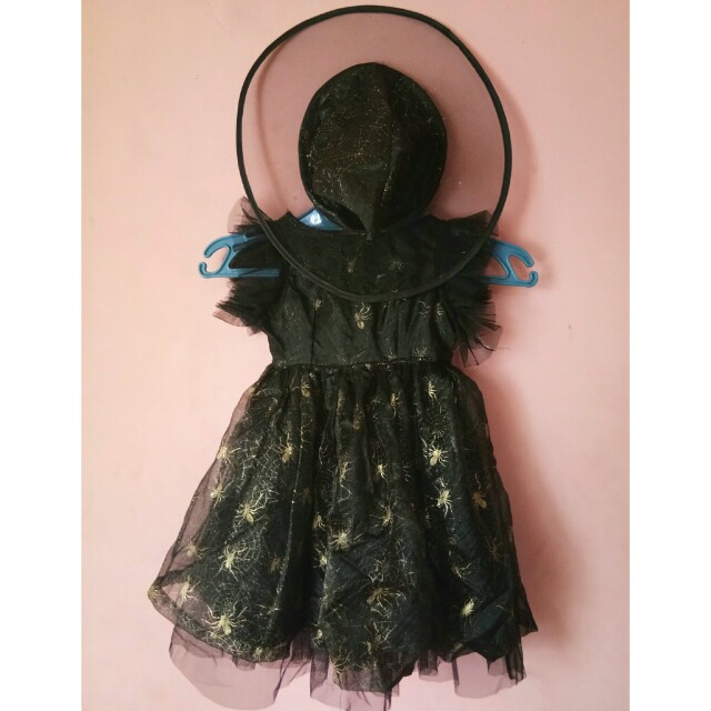 Spider Witch Tutu Dress Costume