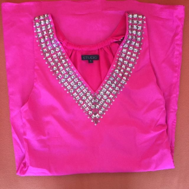 Studio Pink Shift Dress
