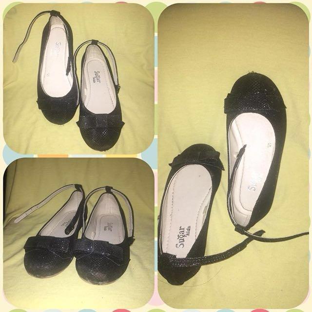 Sugar Kids Doll Shoes (Black)