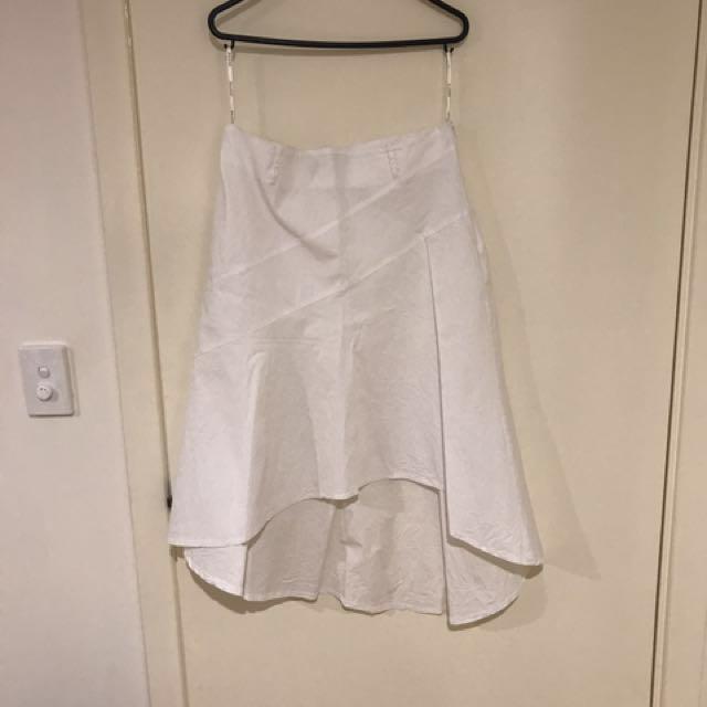 Supre White skirt
