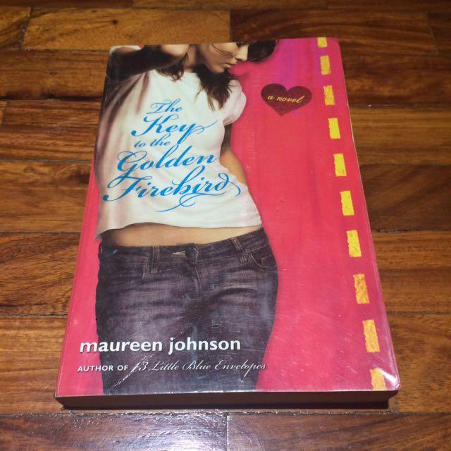 the key to the golden firebird johnson maureen
