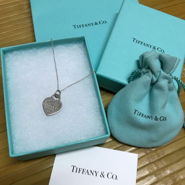 Tiffany&co 項鍊 愛心經典款