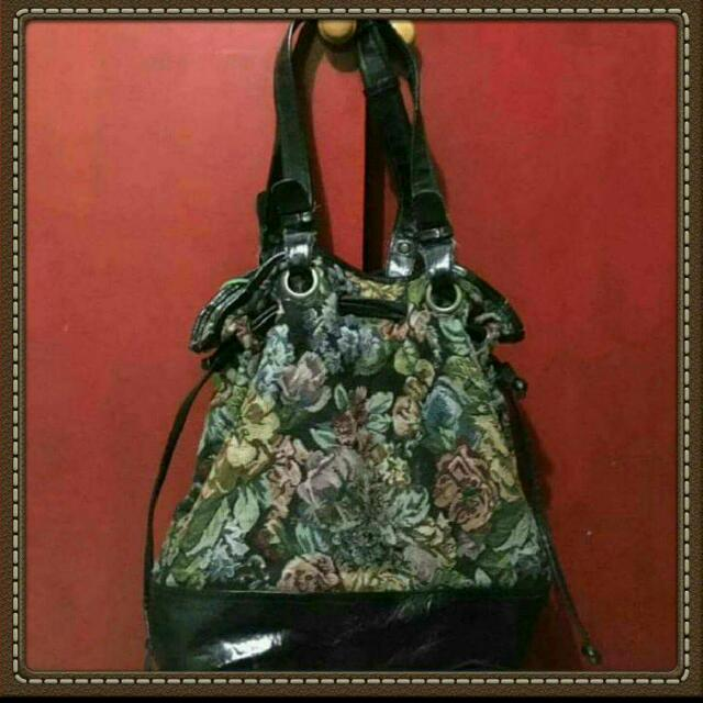 Topshop Bucket Floral Bag