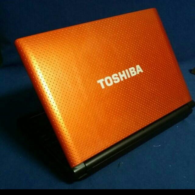 English OS - Toshiba NB550d Orange 10inch