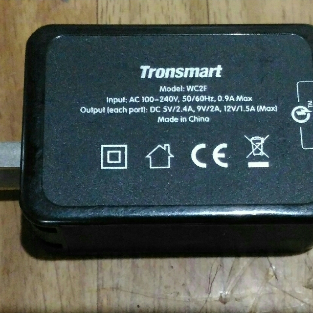 Tronsmart quick charging with two port