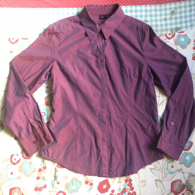 Two toned Violet Long Sleeves
