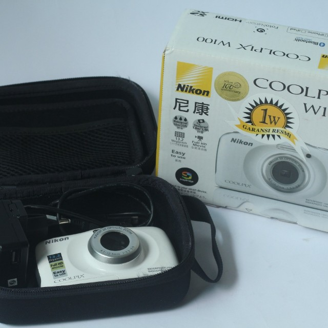 Underwater camera - nikon coolpix W100