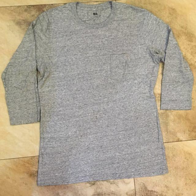UNIQLO 3/4 pocket sleeves