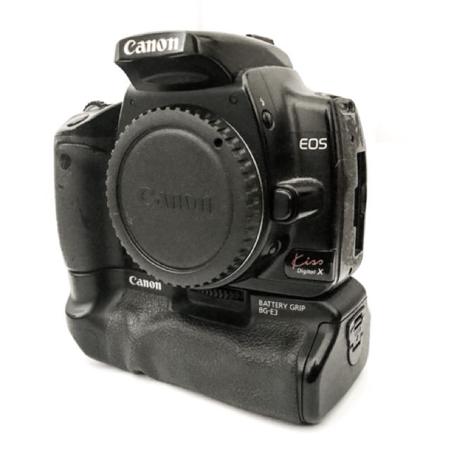 USED: Canon EOS Kiss Digital X