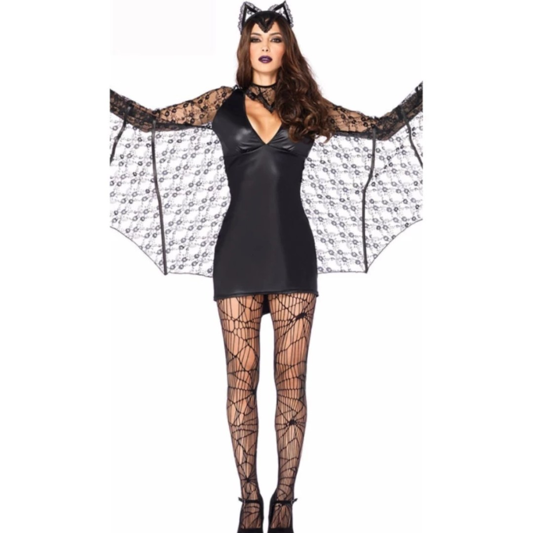 vampire bat adult halloween costume moonlight bat woman adult