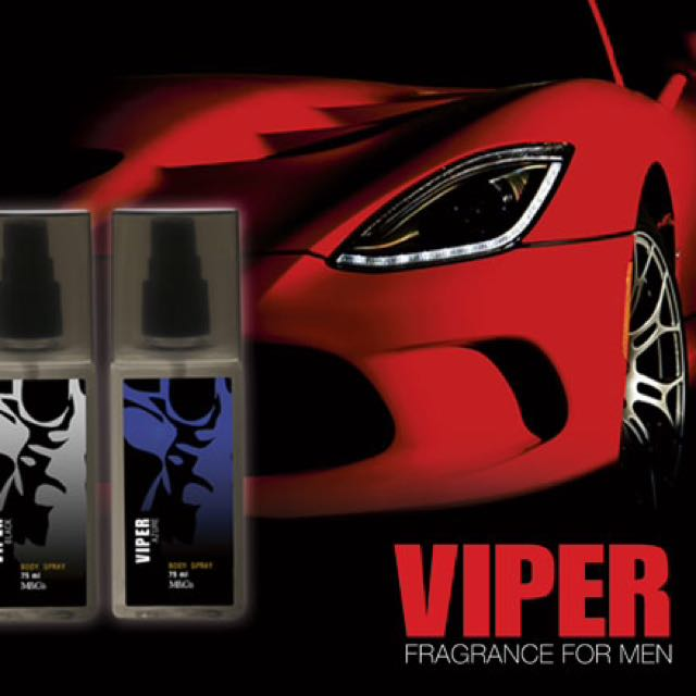 Viper Black and Azure Body Spray
