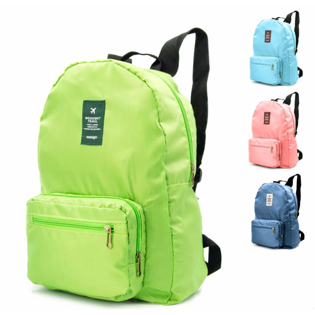 Week Eight Travel Foldable Backpack d512f893700ee