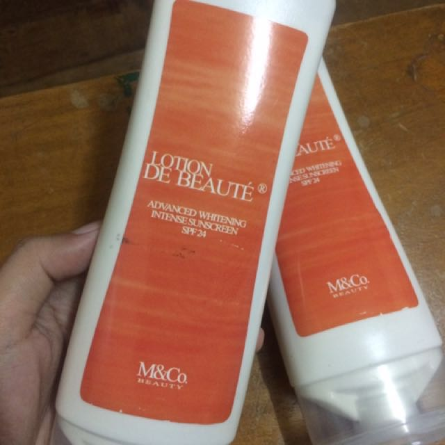 Whitening Lotion de Beaute