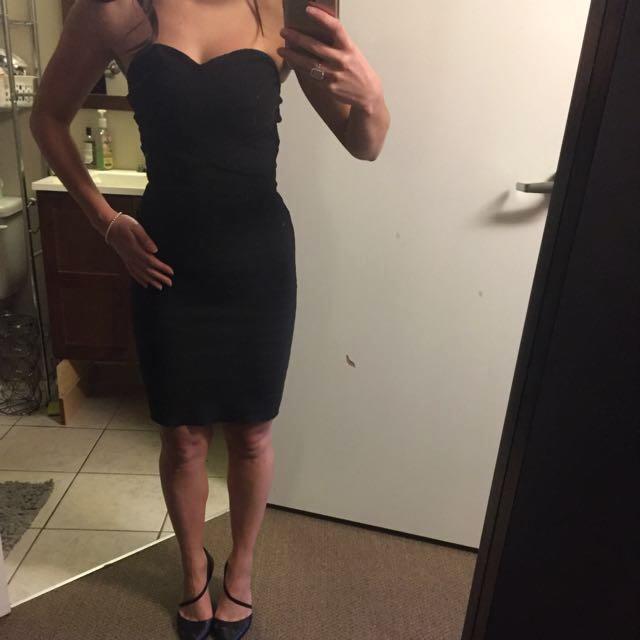 Women's Black Bandage Style Dress