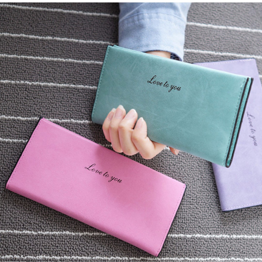 Women's fashion long wallet