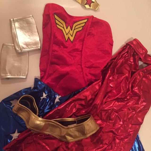Wonder Woman Full Costume Set