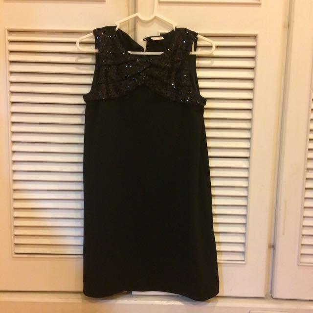 Zara童裝13-14黑色典雅洋裝