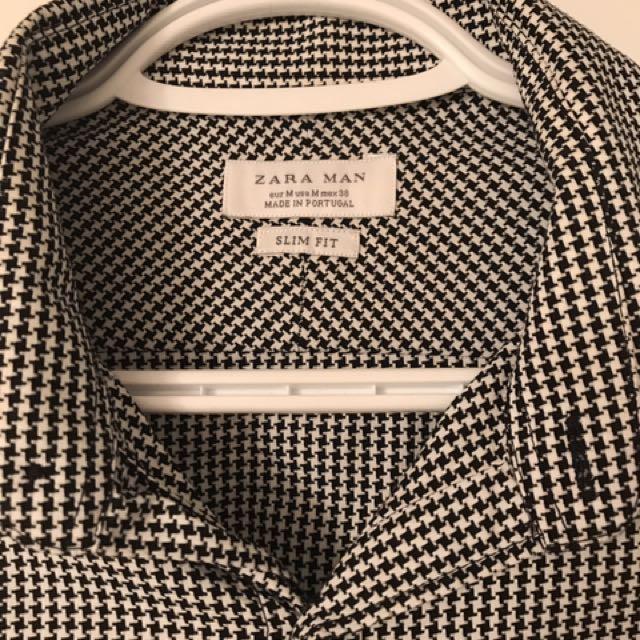 Zara slim fit men's shirt