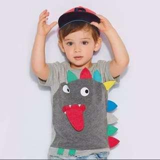 BN 3D Dinosaur Boy T-shirt