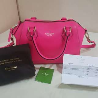Kate Spade Catherin Street in neon pink