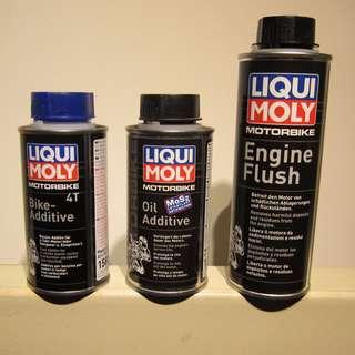 Liqui moly 3 in 1 motorcycle bike additive