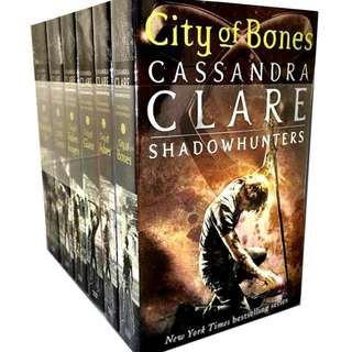 The Mortal Instruments Book Set (Book 1-6)