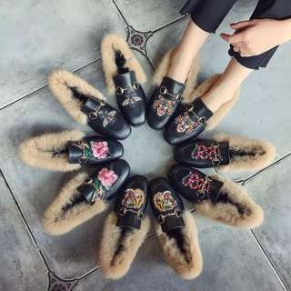 Parody gucci slippers