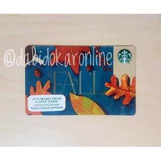 Starbucks US Fall Card