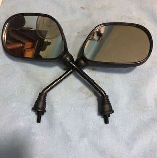 Stock side mirrors