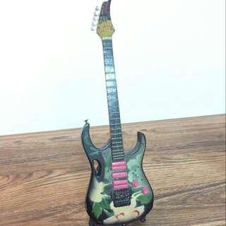 Ibanez Guitar Steve Vai  Jam Flora Handicraft For Display