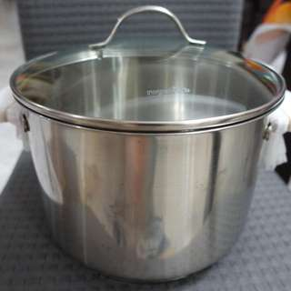 New In Box Royal VKB Stockpot With Lid 24cm