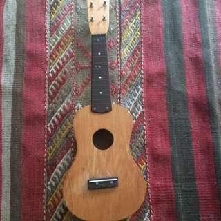 Wooden Ukulele w/o strings