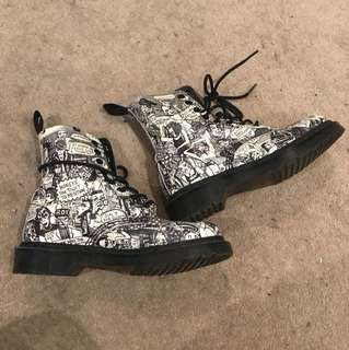 Dr. Martens limited edition Ankle boots