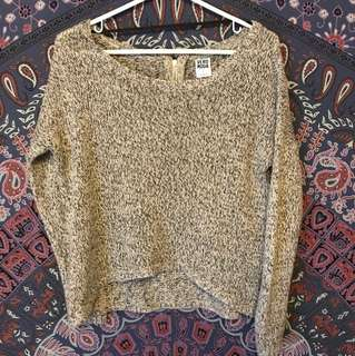 M boutique knit sweater