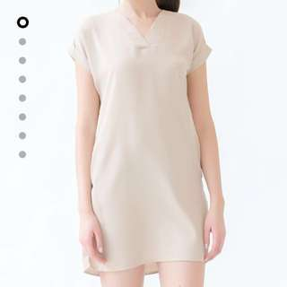 Sand Calla Dress (size Xs)